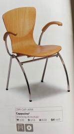 Cappucino Arm Chair
