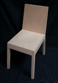 Oblique Side Chair